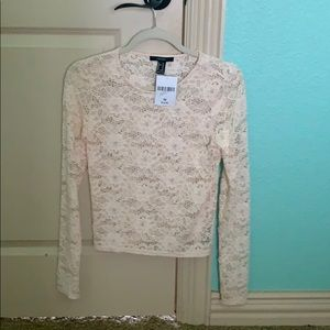 Forever 21 Lace Top NWT
